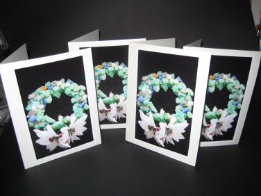 Sea Glass Wreath photo cards
