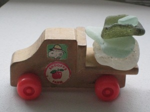 SEA GLASS and Snoopy truck
