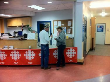 CBC North interview